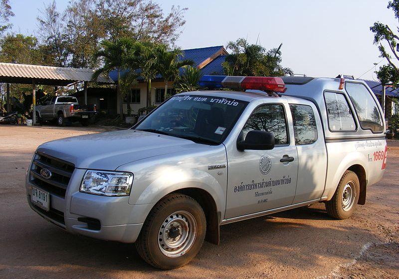 Three die in rescue vehicle crash in Trat