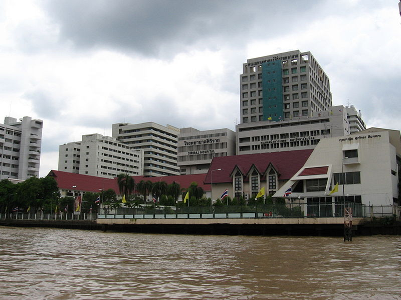 Siriraj hospital in Bangkok