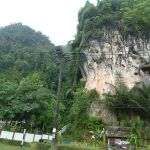 Cliff in Krabi province, Southern Thailand