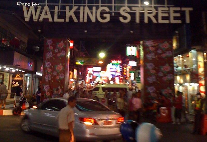 Pattaya Walking Street Go-Go Bars Raided