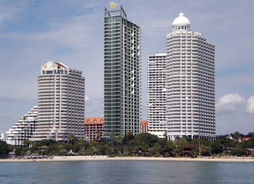 Wong Amat Tower in Pattaya