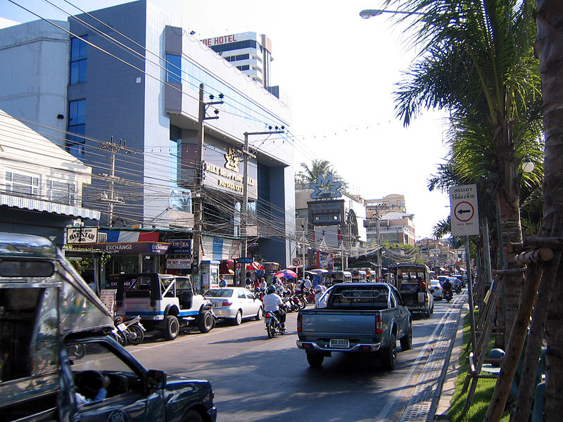 Mike Sopping Mall at the Beach Road in Pattaya city