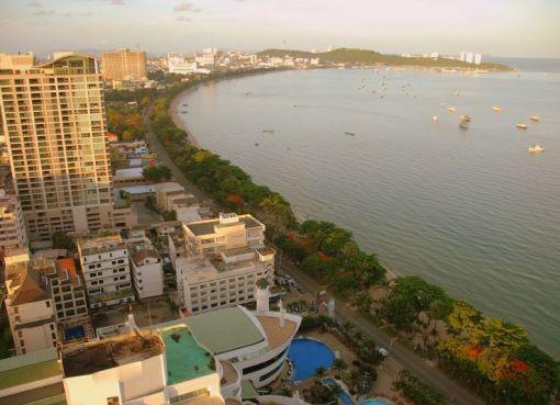 Buildings in Pattaya
