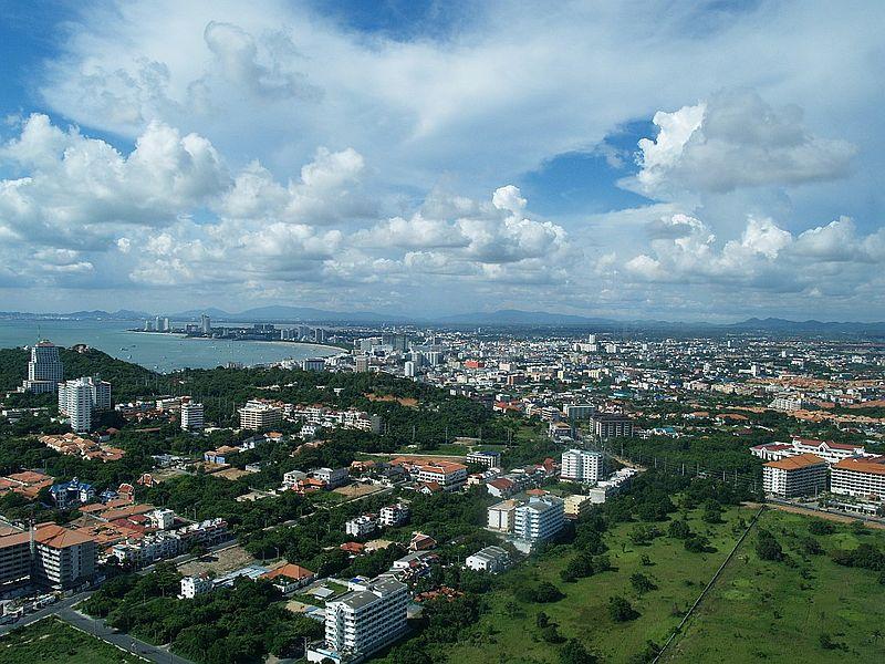 View of Pattaya in Chonburi