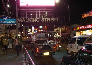 Cars on Walking Street, Pattaya