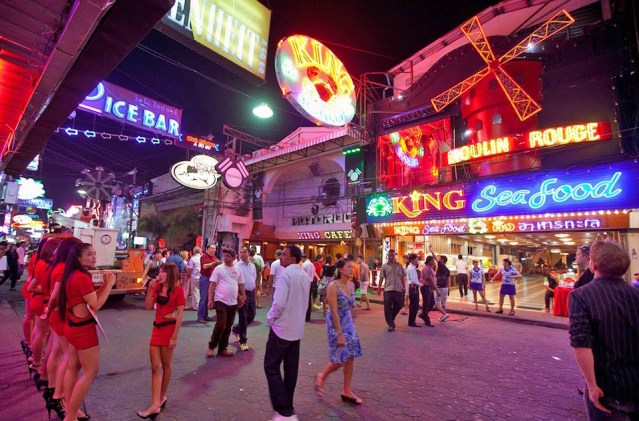 Scores of teenagers detained in raid on Pattaya bar