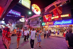 Scores of police and military descend on Pattaya Walking Street