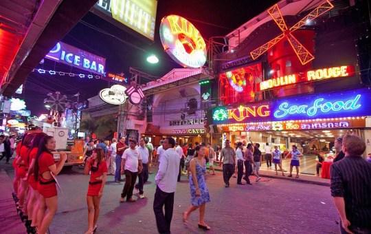 Street in Pattaya, Thailand