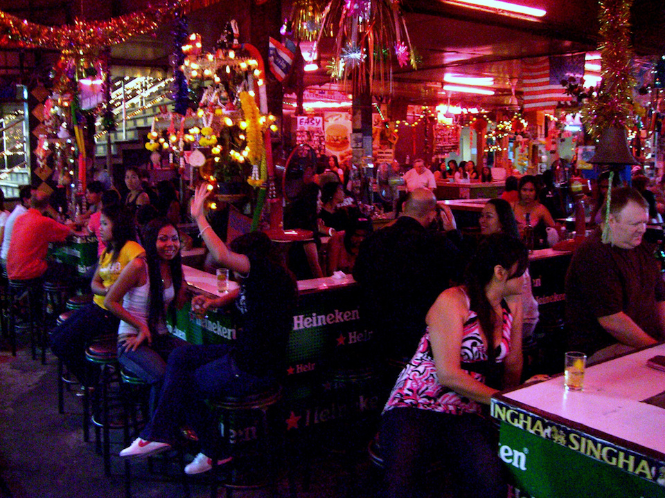 Beer bar in in Pattaya
