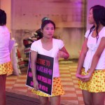 Bar girls at Pattaya Walking Street