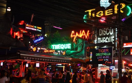 Tiger Discotheque in Patong, Phuket