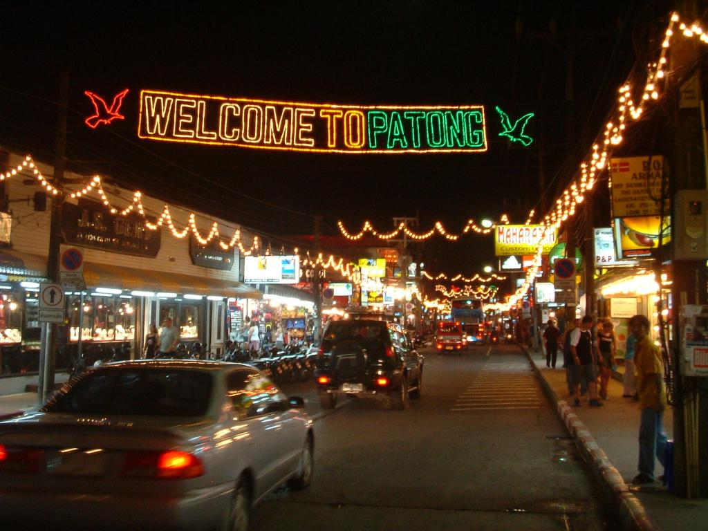 Nightlife in Patong, Phuket