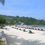 View of Patong Beach in Phuket