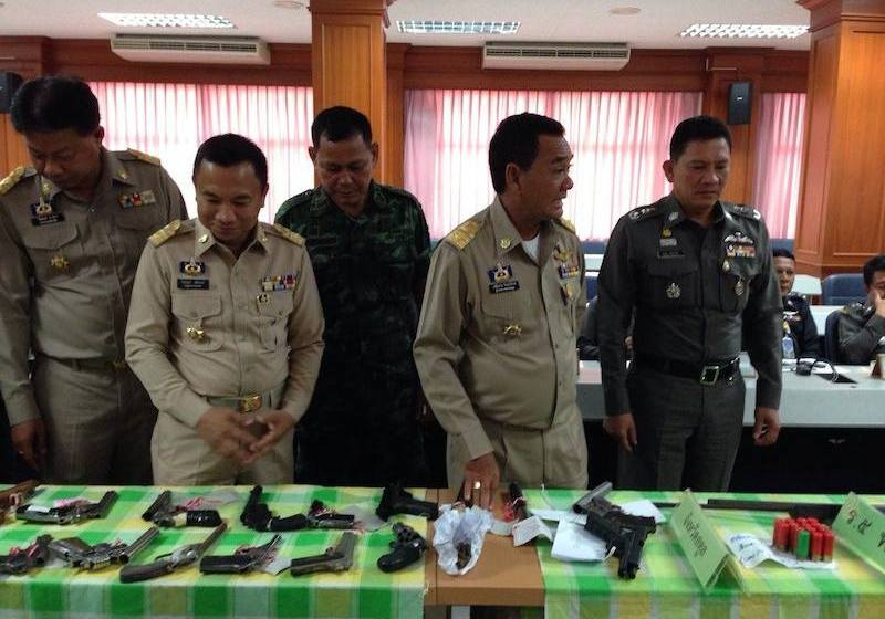 Police reveal illegal weapon crackdown