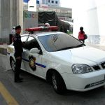 Thai Tourist Police Chevrolet Optra car