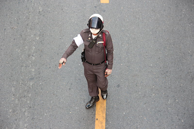 Police officer in Bangkok