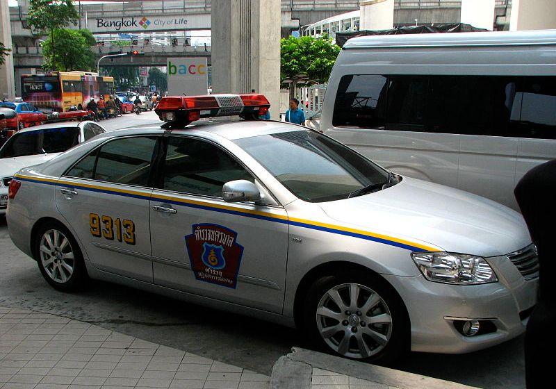 Thailand Police Highway Patrol Toyota Camry VVTi