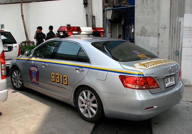 Police Highway Patrol Toyota Camry VVTi in Thailand