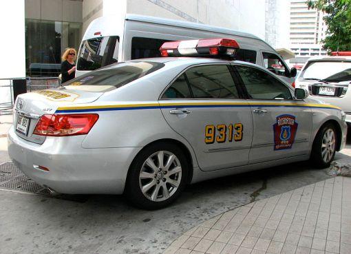 Thailand Police Highway Patrol Toyota Aurion