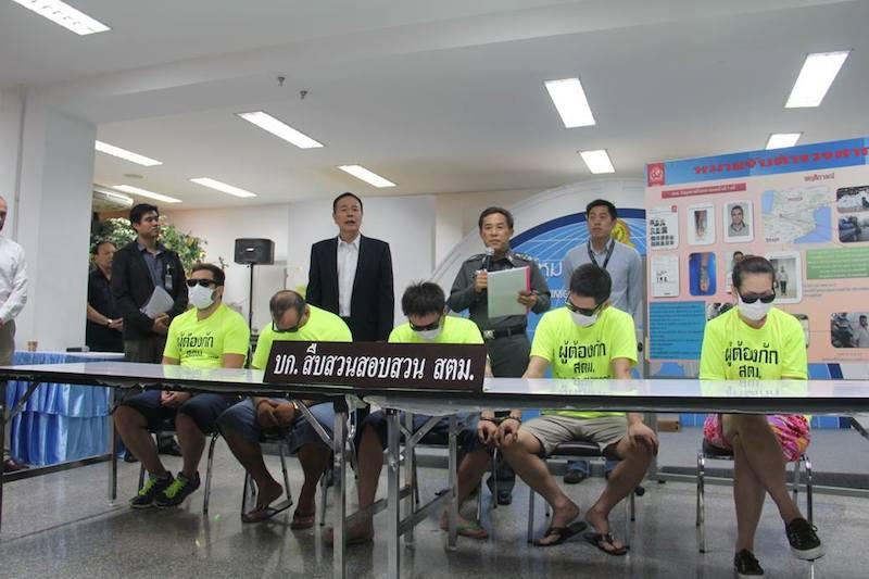 Asian criminals arrested in Thailand
