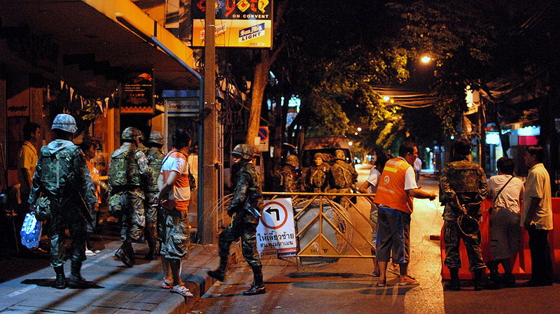 Over a week from the 2014 Thai military coup