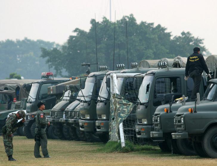 Royal Thai Army vehicles