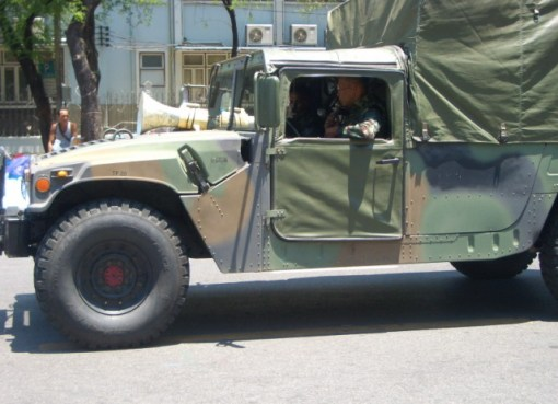 Thai military vehicle
