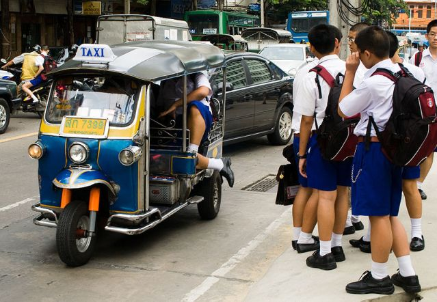 Traffic congestion across Thailand as new school term begins