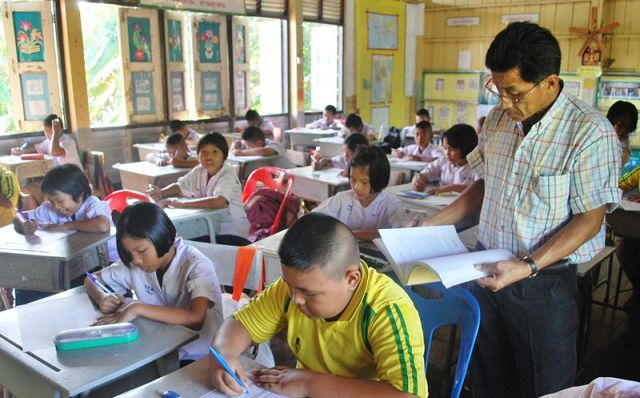 Teacher exams held nationwide