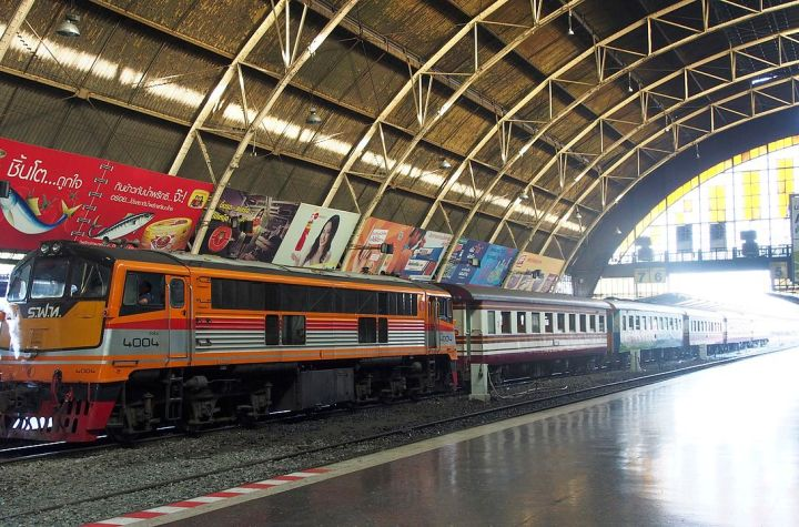 Hua Lamphong Railway Station, Bangkok