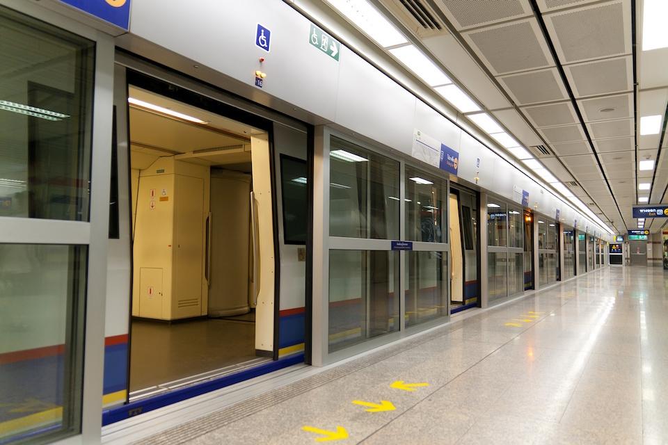 Hua Lumpong MRT station in Bangkok