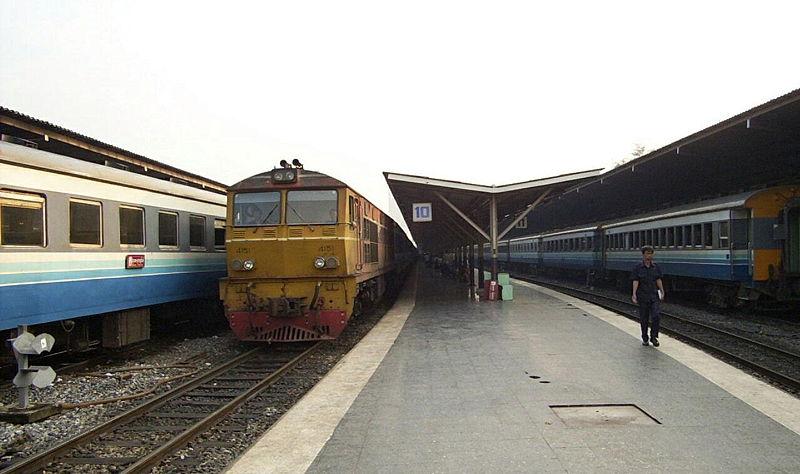 Hua Lamphong train station in Bangkok
