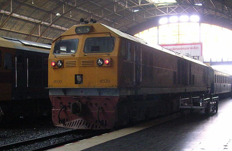 State Railway of Thailand's GE CM22-7i locomotive