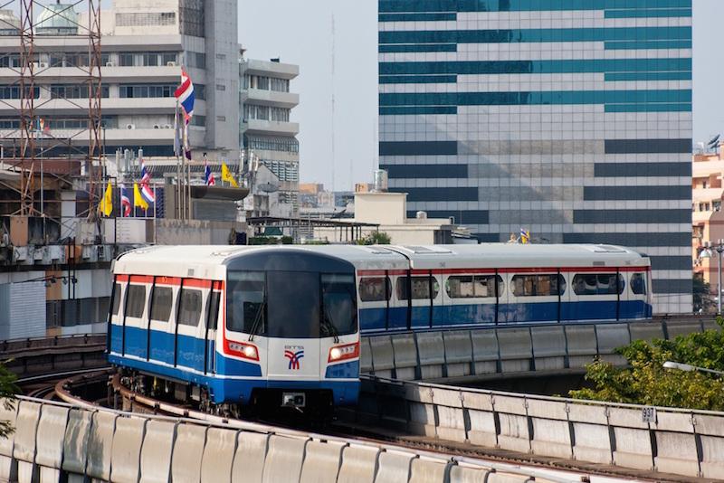 BTS Skytrain in Bangkok