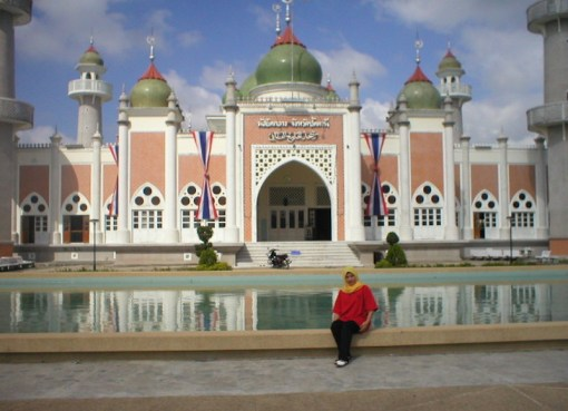Pattani Grand Mosque in the violence plagued South