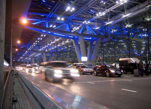 Bangkok Suvarnabhumi airport terminal building departures level