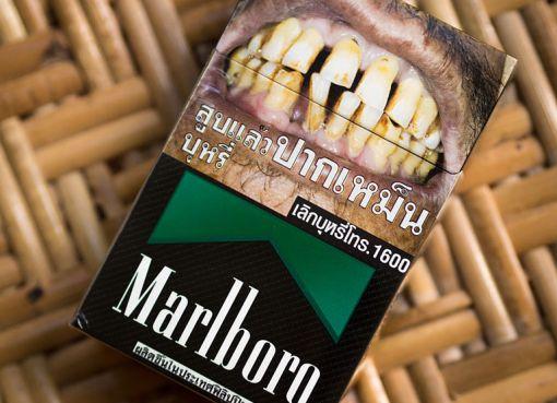Marlboro Black menthol Thailand