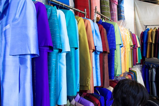 Surin, Buriram, Chaiypahum fabric makers given technological innovation