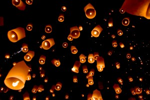 Loi Kratong Lantern Festival Chiang Mai 2015