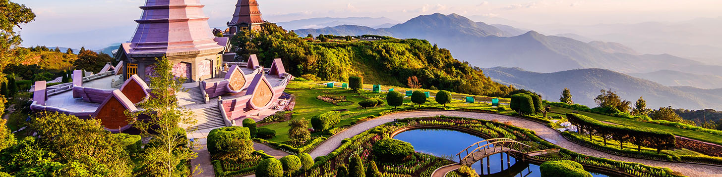 A Beautiful Chaing Mai Panorama