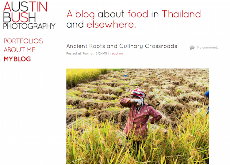 Thailand Blogs - Austin Bush Photography