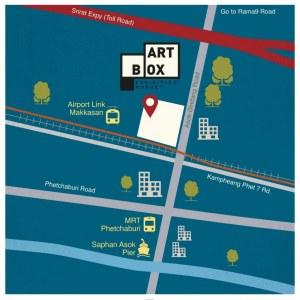art box bangkok map
