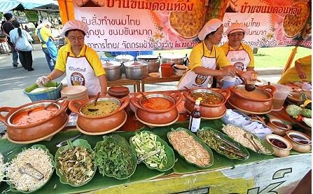 Samples of Thai Food