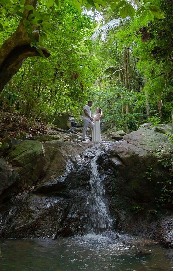Phuket Waterfall Wedding Thailand