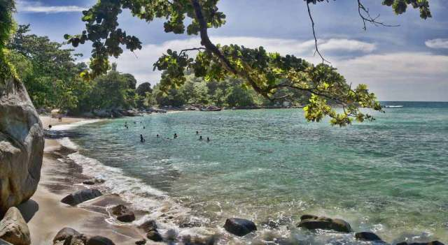Paradise Beach in Thailand