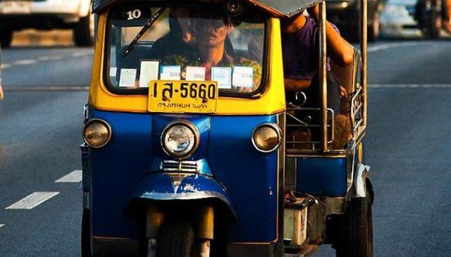 Travel in Public transportation in thailand