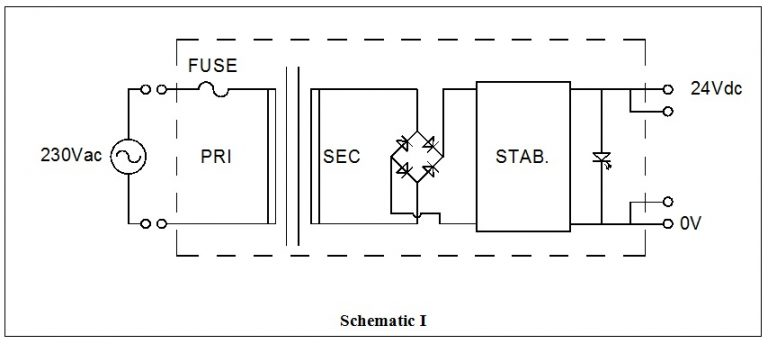Single Phase Linear Stabilized DC Power Supply on Mounting
