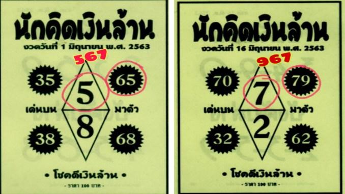 thai-lotto-pair-tip-paper