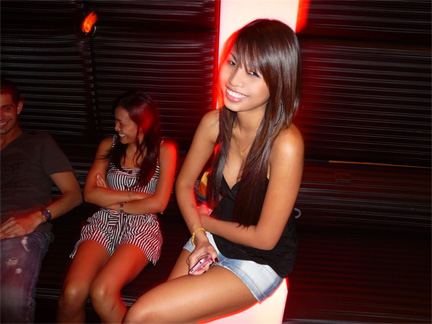 Think, you Very young thai bar girl
