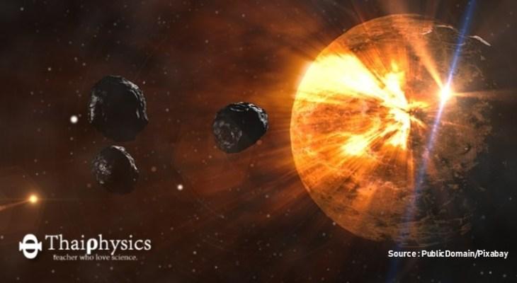 ดาวเคราะห์น้อยอาจพุ่งชนโลกในปี 2027